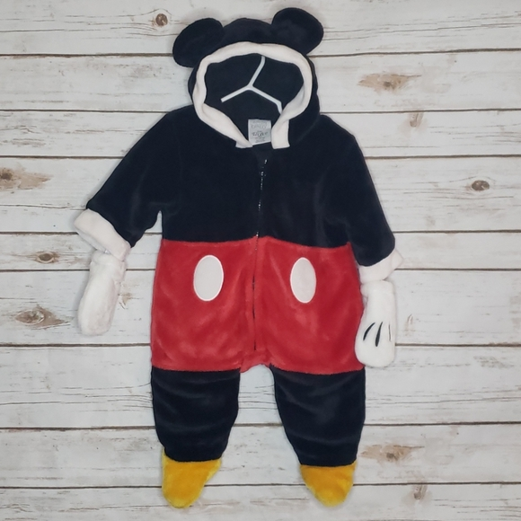 Disney Baby Micky Mouse Outfit/Costume 3-6 Months